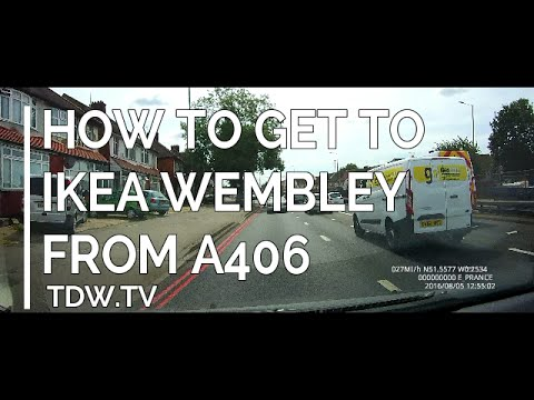 How to get to IKEA WEMBLEY from the A406
