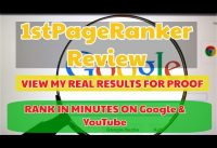 1st Page Ranker Review | Bonuses | [REAL PROOF] | Rank Number 1 Quickly