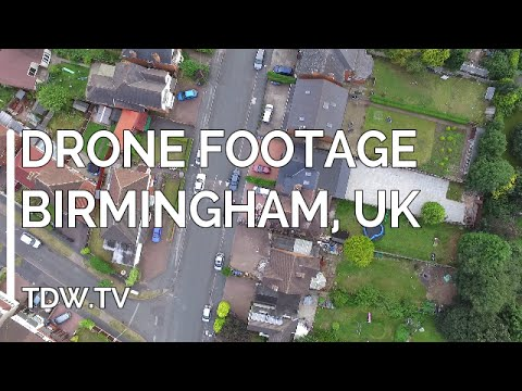 Drone Footage – Birmingham – 2016