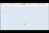 Auto shade alternate rows in Microsoft Excel – Office 2007-2016/365
