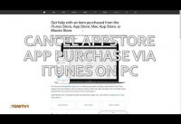 Cancel and Refund Apple AppStore Purchases Quickly!