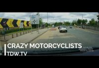 Crazy Motorcyclists Stunts London – A406 Abbey Road