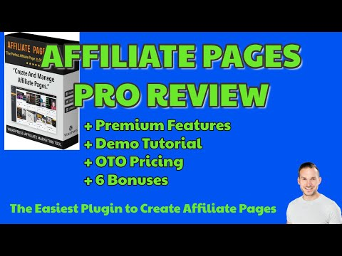 Affiliate Pages Pro Review   Updates   Premium Features   6 BONUSES   Early Bird Pricing NOW😍