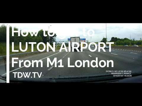How to get to London Luton Airport – Long Term Car Park – 2016