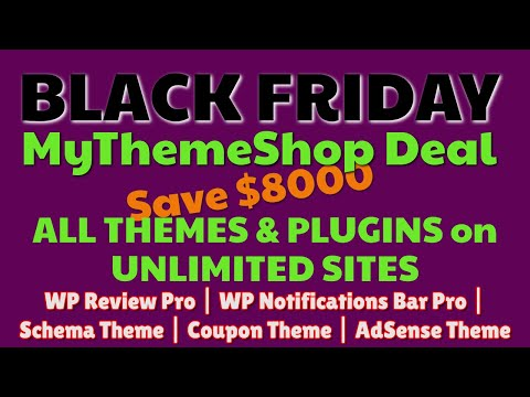 MyThemeShop Black Friday 2019 Discunts + Deal | Premium Themes & Plugins | Pro Plugins