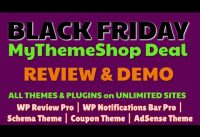 MyThemeshop Black Friday 2019 | Review & Demo | Why I Bought This