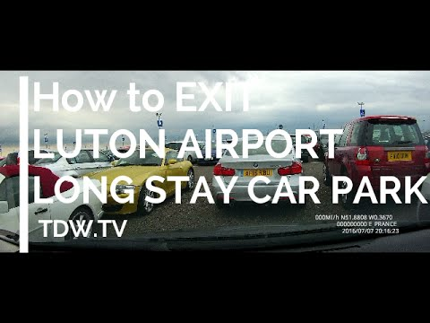 How to Exit London Luton Airport – Long Term Car Park – 2016