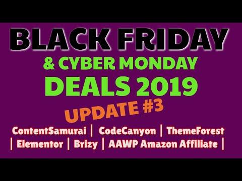 Best Black Friday Deals 2019 | Content Samurai (Vidnami) 40% Discount | Code Canyon | Glorify