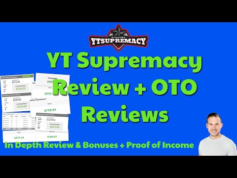 YT Supremacy Review🔥  In Depth Review with bonuses and proof of income | Make Money on YouTube 🔥
