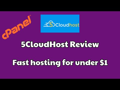 5CloudHost Review | Cheap Hosting | Cheap WordPress Hosting [FAST HOSTING]