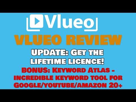 Vlueo Launch Price Ending 👀 Amazing Bonus Product Keyword Atlas 🎁