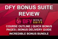 DFY Bonus Suite Review | Easy Bonus Pages 🎁🎁 | WordPress Bonus Delivery