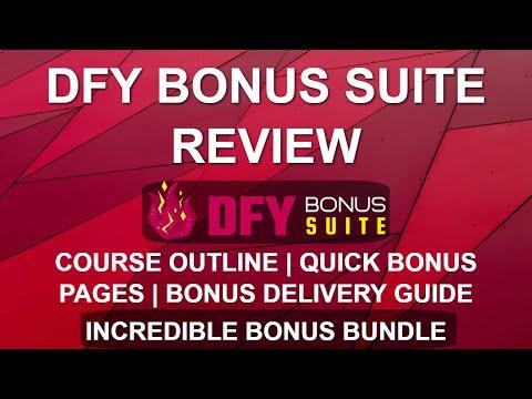 DFY Bonus Suite Review | Easy Bonus Pages 🎁🎁 | WordPress Bonus Delivery