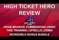 High Ticket Hero Review 🦸‍♂️ | Massive Commissions with Facebook Free Method 🦸‍♂️