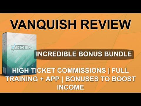 Vanquish Review | 😲 Shocking Bonuses 😲 | Easy Traffic to Big Commissions