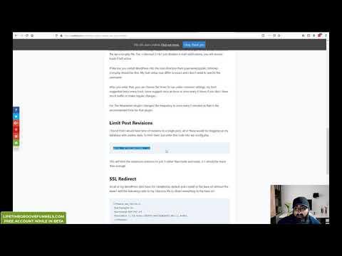 WordPress Max Memory | Max Post Revisions | WP Cron | cPanel