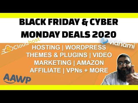 Black Friday Cyber Monday Offers 2020 🤑 Vidnami | GetResponse | CodeCanyon | Elementor 🤑