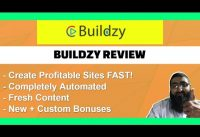 Buildzy Review | Create Unlimited Ranking Sites to Monetise