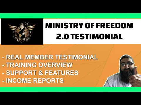 Ministry of Freedom Testimonial 2021 Member Review