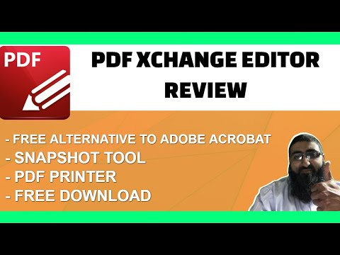 PDF Xchange Editor Review Free Adobe Acrobat Alternative
