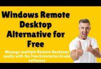 Windows Remote Desktop Alternative Free